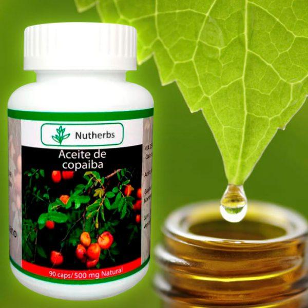 Aceite de copaiba en capsulas