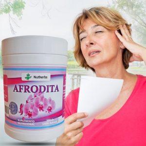 Afrodita, olvídate de los síntomas de la menopausia